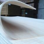 Biegesperrholz mit Gewebe 4