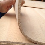 Biegesperrholz mit Gewebe 5